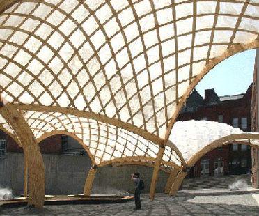 Obra Architects, Pavillon temporaire du PS 1. New York. 2006