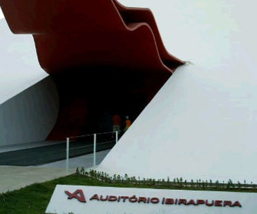 Ibirapuera Auditorium. San Paolo, Oscar Niemeyer. 2005