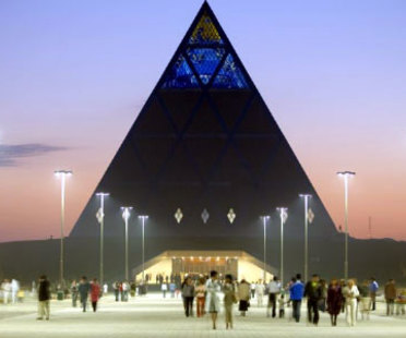 Astana (Kazakhstan). Pyramide de la paix. Foster and Partners. 2006