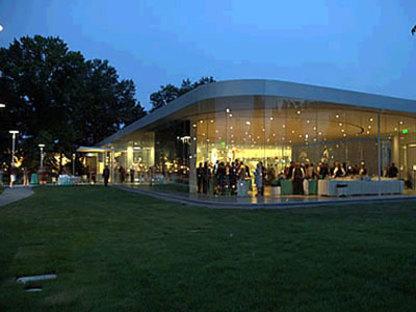 Glass Pavilion. Sanaa architects. Tolède. 2006