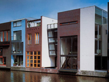 Two Houses. Amsterdam. MVRDV. 2000