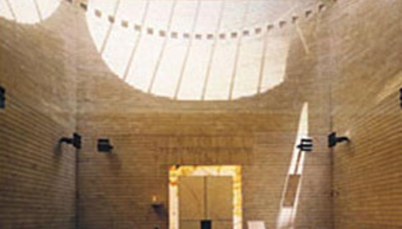 Synagogue et centre de l'héritage juif Cymbalista, Mario Botta
