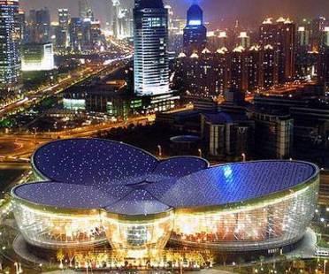 Centre d'Arts orientaux. Shanghai. Paul Andreu. 2005