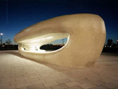 The Amazing Whale Jaw, Maurice Nio. Hoofdoorp. 2003