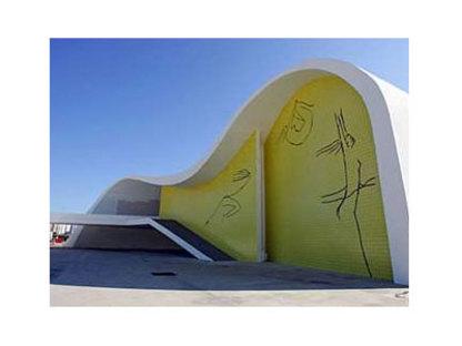 Teatro Popular de Niteroi (Brésil) Oscar Niemeyer. 2007