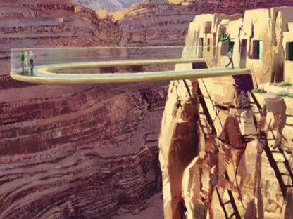 Skywalk. Grand Canyon. MRJ Architects. 2007