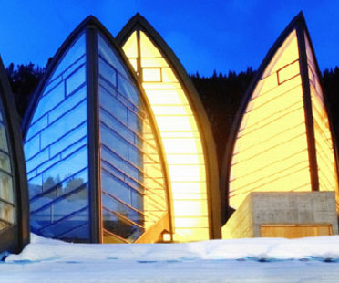 Centre de bien-être Bergoase. Mario Botta. Arosa (Suisse). 2006