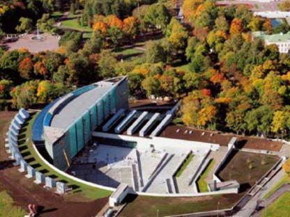 KUMU Art Museum - Vapaavuori Architects. Tallinn, Estonie, 2006