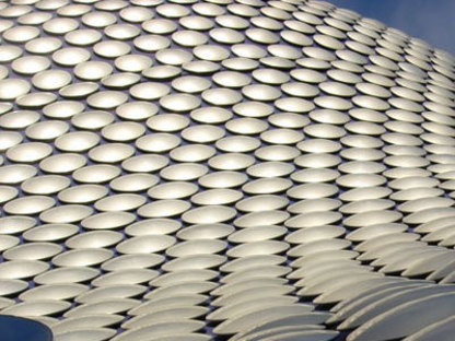 Magasins Selfridges. Future Systems. Birmingham. 2003