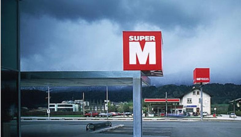 Supermarchés M-Preis. Wattens (Autriche). Dominique Perrault. 2000