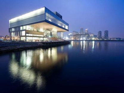 The Institute of Contemporary Art - Diller Scofidio + Renfro.<br />Boston, 2006