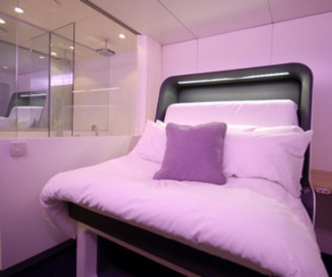 Yotel - Simon Woodroffe et Priestman Goode<br /> Londres, 2007