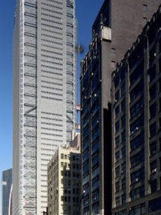 Nouveau siège du New York Times. New York. Renzo Piano. 2007