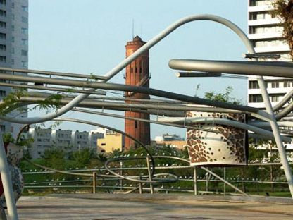 Diagonal Mar Park -  Enric Miralles et Benedetta Tagliabue.<br />Barcelone, 2002