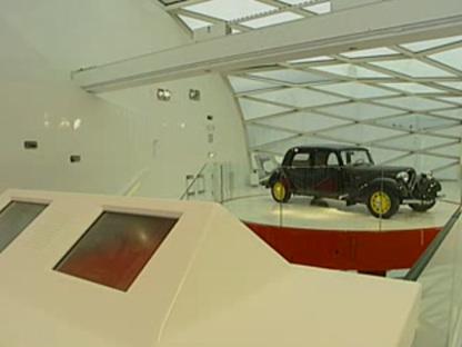 Salle d'exposition Citroën. Paris. Manuelle Gautrand. 2007