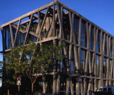 Pavillon noir. Aix-en-Provence. Rudy Ricciotti. 2006