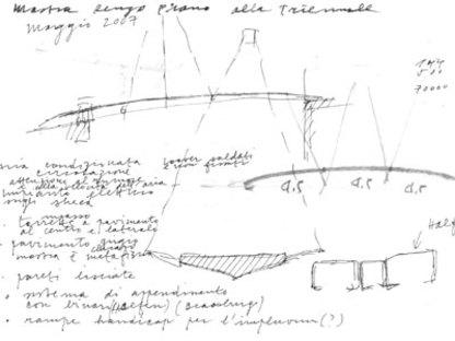 Le Pont d'accès au Triennale Design Museum, Michele De Lucchi, Milan, 2007