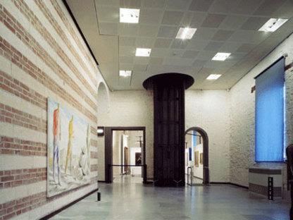 Projet de Tobia Scarpa pour la récupération du Palazzo de la Ragione à Vérone