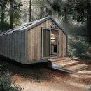 Trois modèles de mobile homes projetés par Hangar Design Group