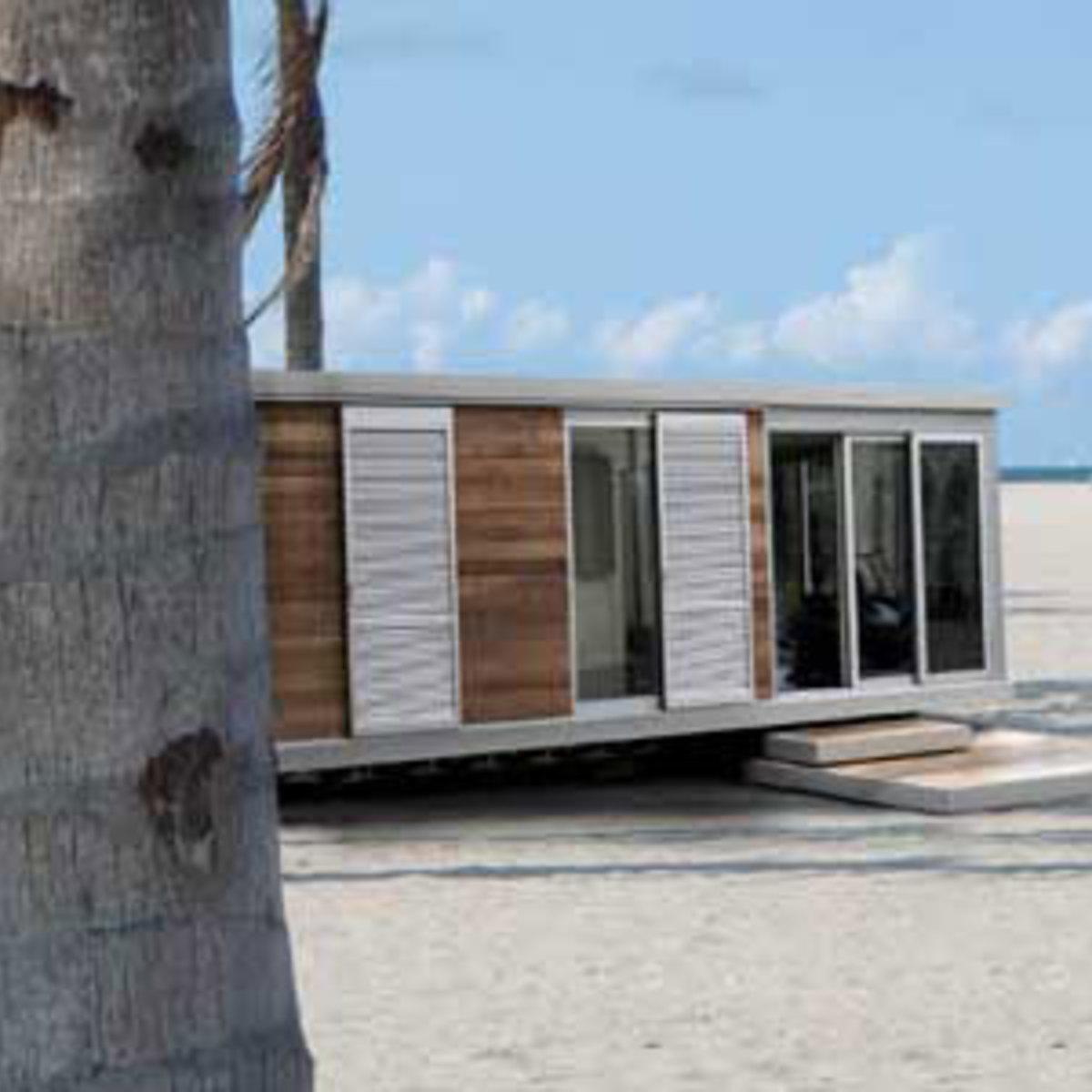 Trois Modeles De Mobile Homes Projetes Par Hangar Design