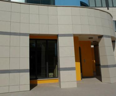 I.C.O.T. pavillon pour les personnes âgées avec le mur ventilé