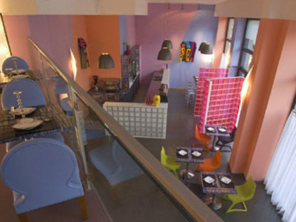 Restaurant Blue Ginger, Atelier Mendini, Milan 2008