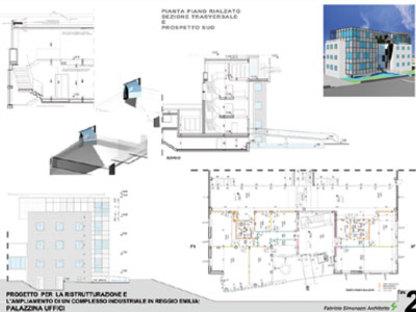 Finabe, Édifice pour bureaux, Reggio d'Émilie