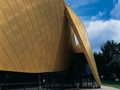 Salle des fêtes, Le Safran, S.C.P.A. Semon-Rapaport Mandataire de L'Equipe Architects, Brie-Comte-Robert, 2006