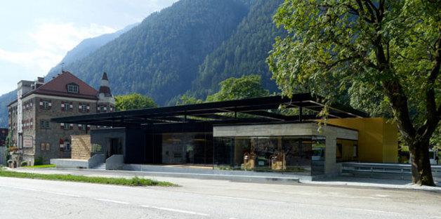 AH-Bräu architecture du Tyrol du Sud