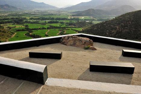 Mirador Viña Seña : le centre dans le paysage