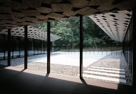 Museum of Kanayama Castle Ruin : Kengo Kuma
