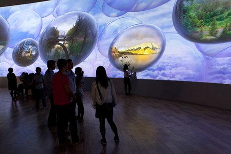 Le Pavillon finlandais à l'Expo de Shanghai 2010