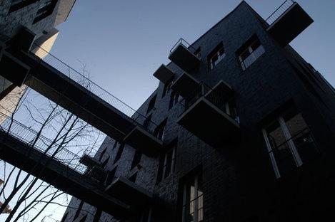 Dynamisme du design des façades
