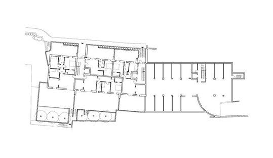 Pianta livello 2, residenze e garage