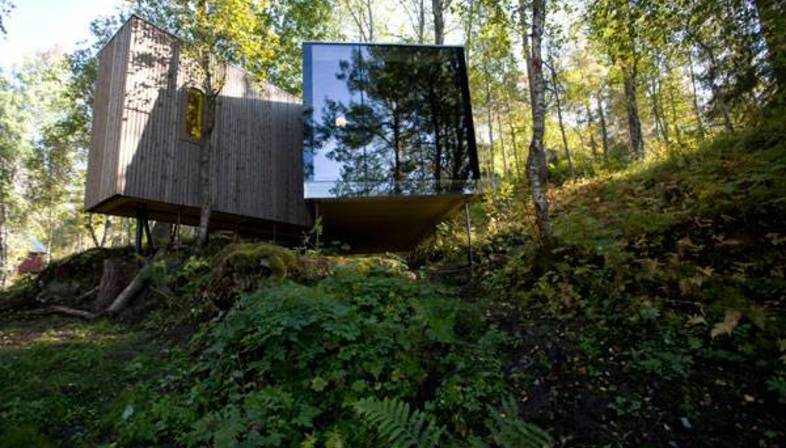 Jensen & Skodvin: Landscape hotel in Norvegia