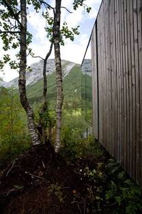 The homes disappear into their natural surroundings