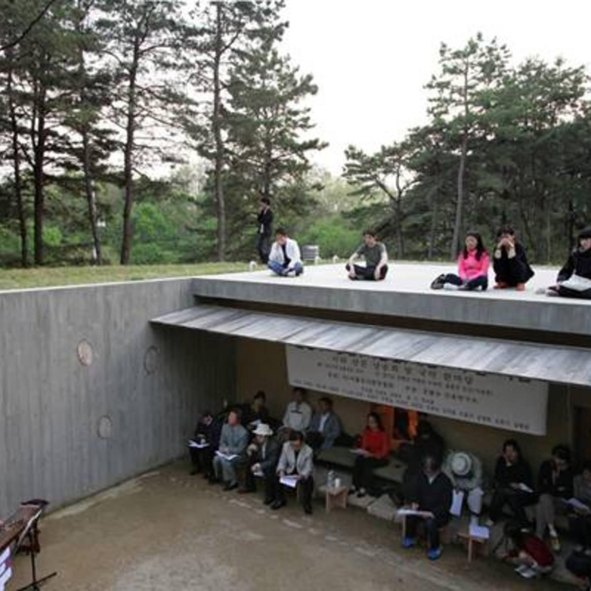 Byoungsoo Cho : Earth house en Coree du Sud | Floornature