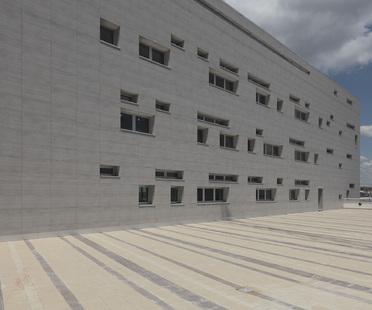 Nouveaux bureaux pour un nouveau quartier à Rome