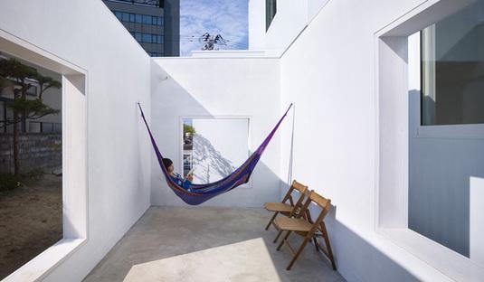 Yoshichika Takagi, une maison dans un parking