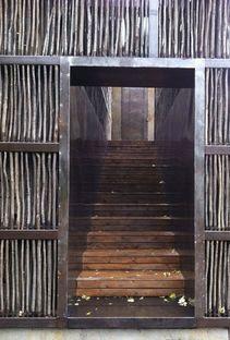 Li Xiaodong : bibliothèque dans le bois