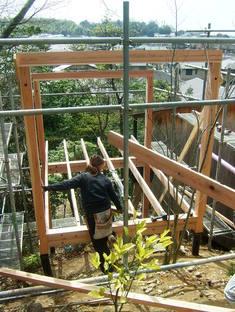 Koji kakiuchi : un refuge en bois à Nara