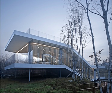 TAO : riverside club house à Yancheng (Chine)