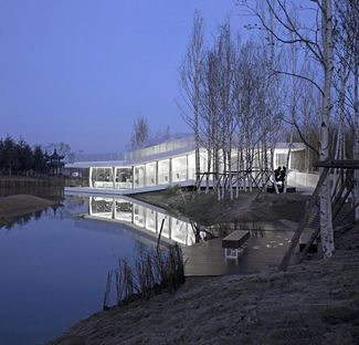 TAO : riverside club house à Yancheng (Chine)