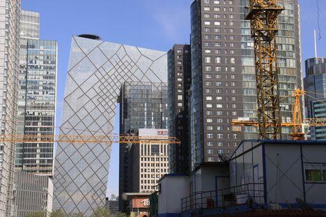 OMA/Rem Koolhaas : siège de la CCTV à Pékin