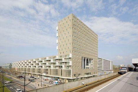 NL : complexe Kamaleon à Amsterdam
