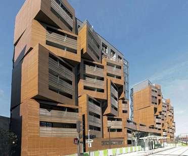 OFIS architects : Basket apartments à Paris