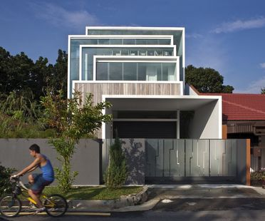 Chang Architects : maison dans la nature à Singapour