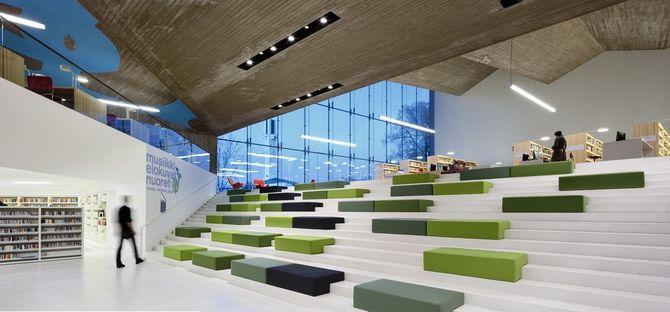 JKMM Architects: bibliothèque centrale de Seinäjoki en Finlande