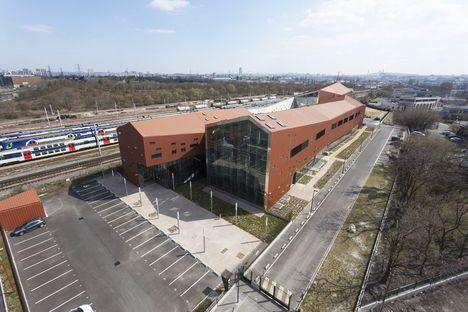Brenac + Gonzales: centre de formation professionnelle à Gennevilliers