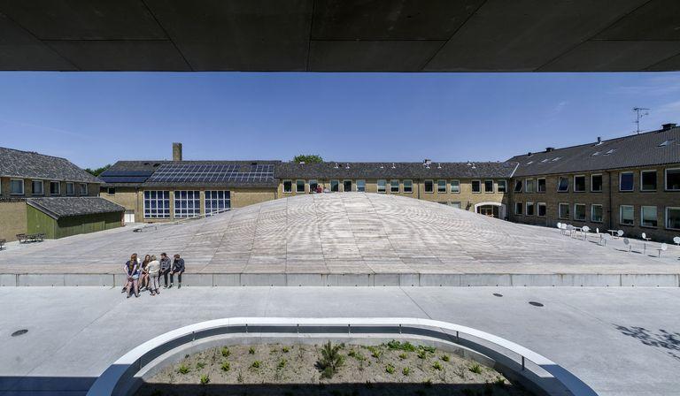 BIG (Bjarke Ingels): Gymnase Gammel Hellerup au Danemark
